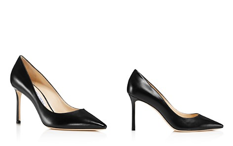 Jimmy Choo Women's Romy 85 Leather Pointed Toe High Heel Pumps - Bloomingdale's_2